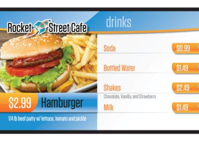 Rocket Street Cafe 3x1