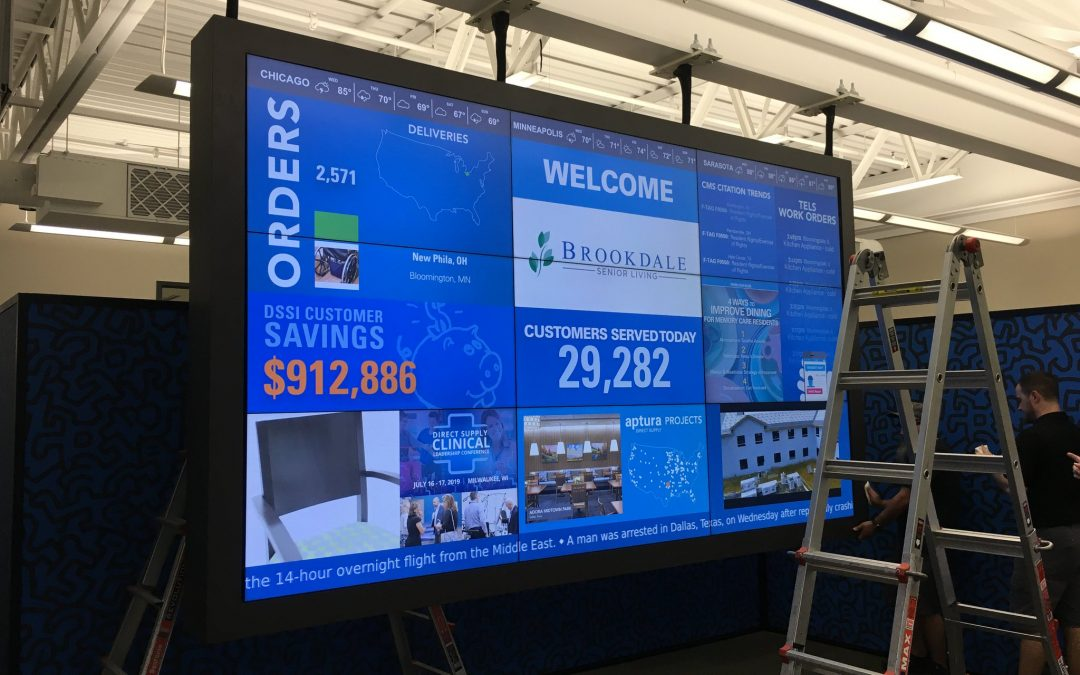 Video Wall powered by BrightSign