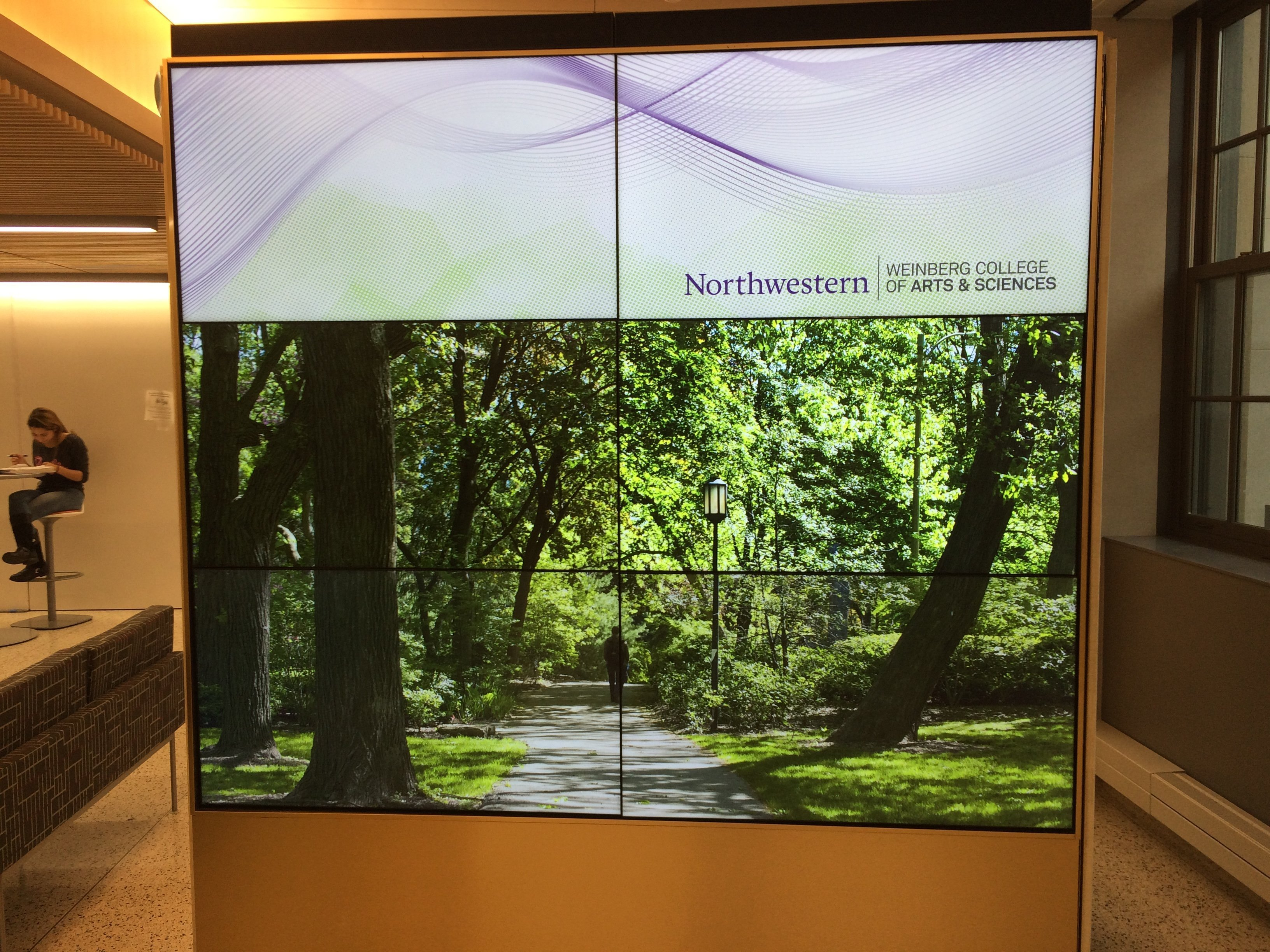 Northwestern Video Wall