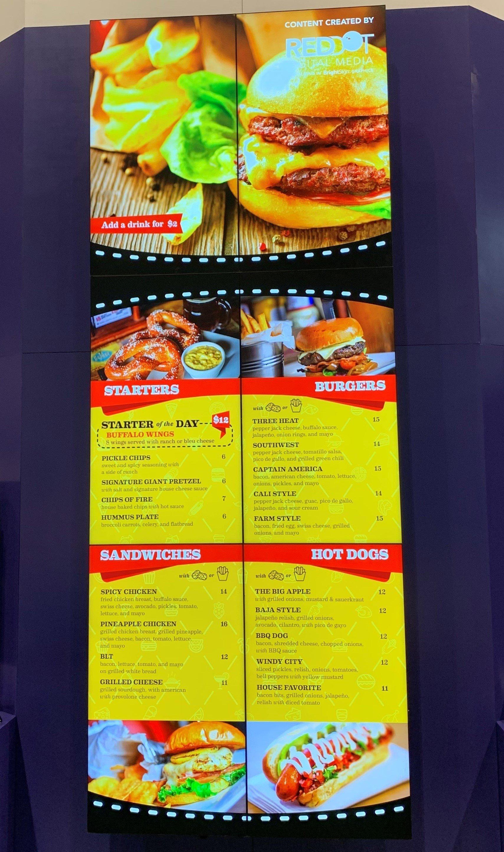 Burger Wall