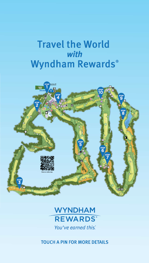 Wyndham Course Map