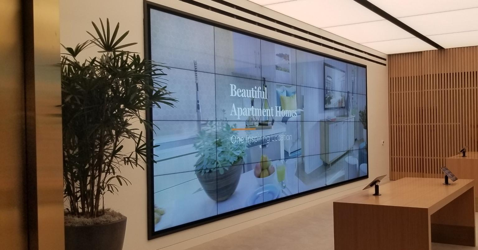 Diversified Video Wall