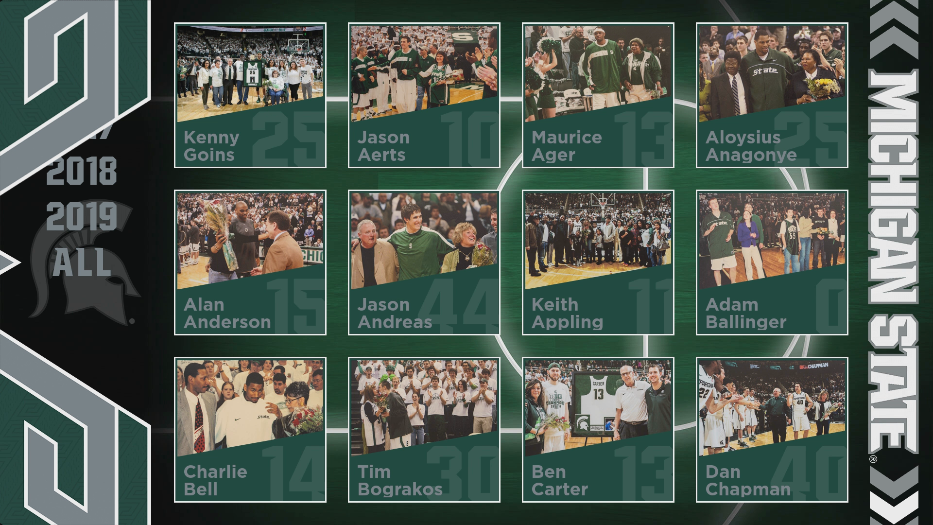 MSU Basketball Home Screen