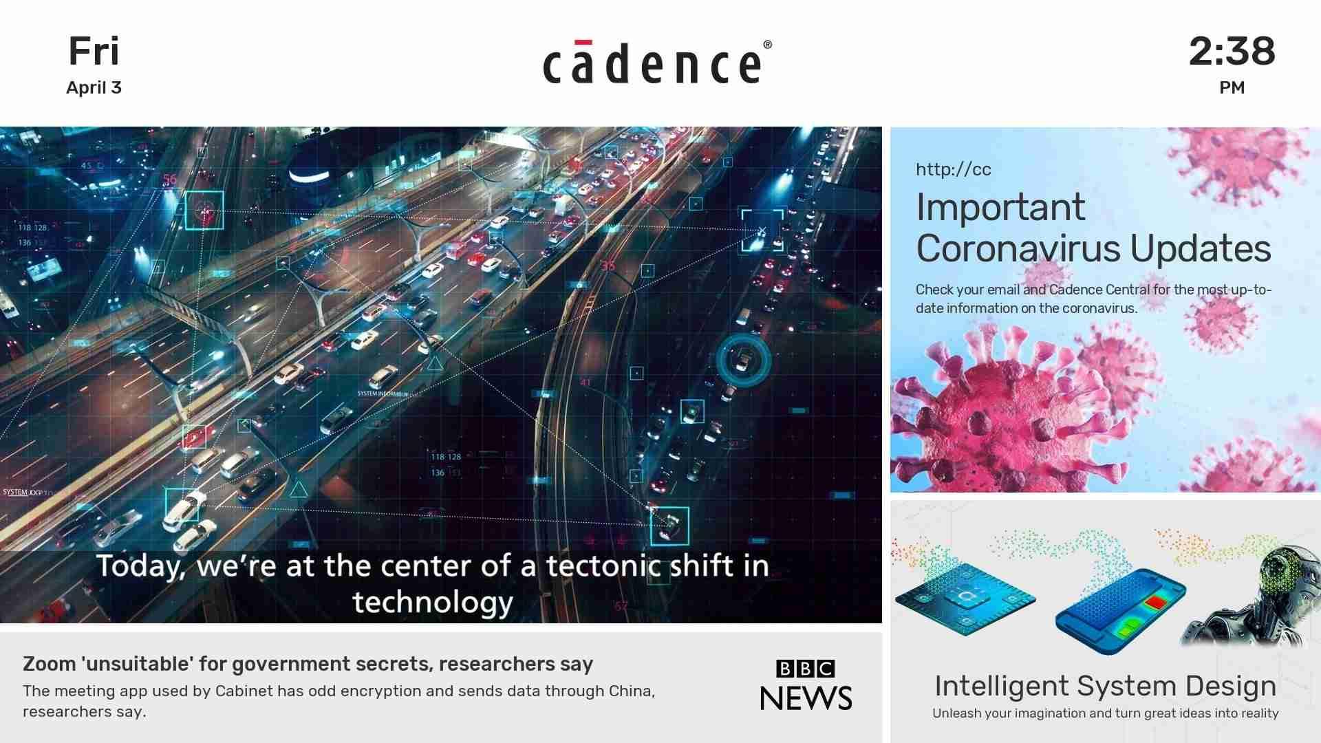 Cadence Re-Design
