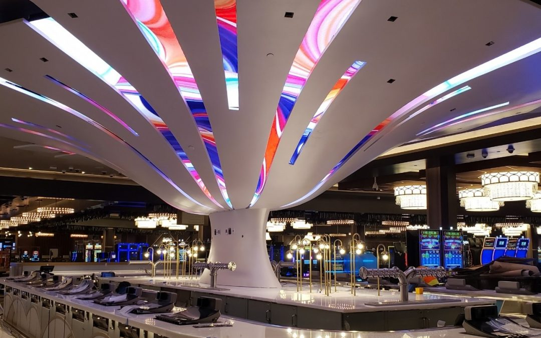 Morongo Casino Reopens With Swish Bar – an Amazing One-of-a-Kind Curved dvLED